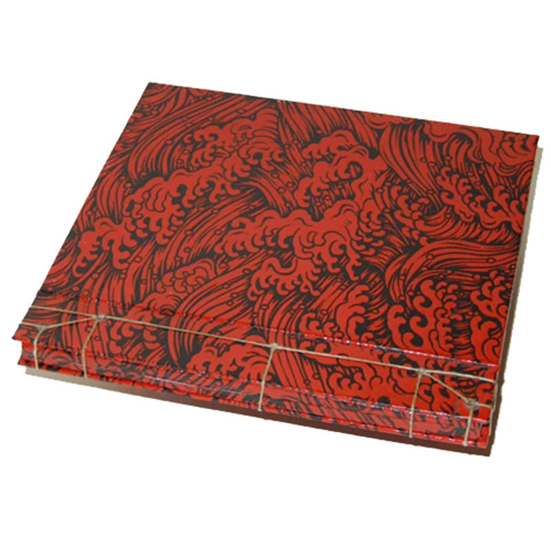 Lacquered Yuzen Paper Bookbinding