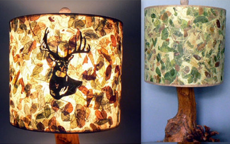 Layered Lampshades