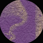 Marbled Momi Paper - ROYAL PURPLE