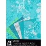 AQUA CHINABERRY DecoPaper Pack
