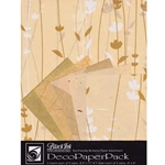 CREAM MEADOW FLOWERS DecoPaper Pack