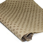 Embossed Nepalese Lokta Paper - CHECKERBOARD TAUPE