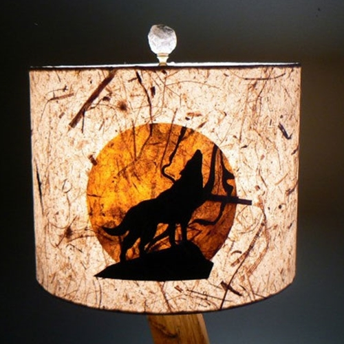 Wolf Lampshade