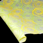 Whimzy Mulberry Paper - GREEN/YELLOW