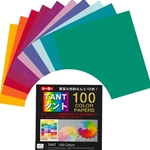 Tant Origami Paper 100 Color Pack 3""