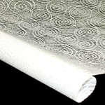 Japanese Washi Tissue - Uzumaki - WHITE