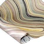 Thai Marbled Paper - BEIGE/BROWN/DUSK