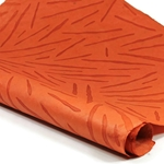 Embossed Nepalese Lokta Paper - CAT-SCRATCH- BURNT ORANGE