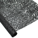 Japanese Ogura Lace Paper - BLACK