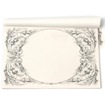 Paper Placemats - ITALIAN SCROLL