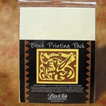 Block Printing Pack Unbleached Mulberry - 25 Sheets