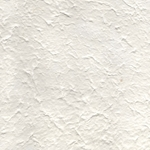 Heavyweight Textured Mulberry Paper - NATURAL WHITE