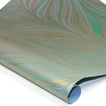 Marbled Indian Cotton Rag Paper - BLUE