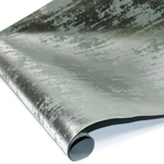 Metallic Foil Indian Cotton Rag Paper - GRAY/SILVER