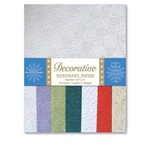 Handmade Indian Cotton Paper Pack - EMBOSSED PATTERNS