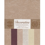 Handmade Indian Cotton Paper Pack - NEUTRAL SILKS