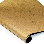 Metallic Indian Batik Cotton Rag Paper - CRINKLE -GOLD/BLACK