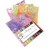 "Marbled Mulberry Momi Paper Pack in Pastel Colors (12 Sheets of 8.5"" x 11"" Paper)"