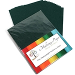 Heavyweight Mulberry Paper Pack - DARK GREEN