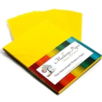 Heavyweight Mulberry Paper Pack - YELLOW