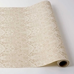 Paper Table Runner Roll - GOLD PAISLEY - 30 Inches x 25 Feet