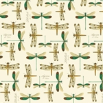 Decorative Italian Print Paper - DRAGONFLIES