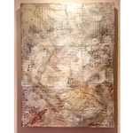 Encaustic Art Wall Hanging
