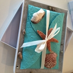 Beach Themed Wedding Invitation Box