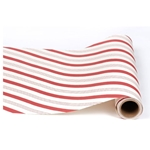 Paper Table Runner Roll - CANDY STRIPE