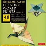 Finally, an origami kit for beginners and experts alike. The large, 8.25 inch sheets make easy folding for beginners as they follow the included instructions. The specialty prints and solid color reverse on these papers will thrill experts with new designs and patterns for their art.The 48 sheets in this kit feature details from 8 classic Japanese ukiyo-e (Floating World) prints. On the reverse of each sheet is a solid, complimentary color. Finishing up the kit are instructions providing an introduction to basic origami folding techniques and instructions for 6 different projects.