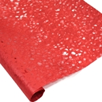 Japanese Ogura Lace Paper - CARDINAL RED
