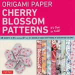 Finally, an origami kit for beginners and experts alike. The large, 8.25 inch sheets make easy folding for beginners as they follow the included instructions. The specialty prints and solid color reverse on these papers will thrill experts with new designs and patterns for their art. The 48 sheets in this kit feature detailed prints of the beloved cherry blossoms. On the reverse of each sheet is a solid, complimentary color. Finishing up the kit are instructions providing an introduction to basic origami folding techniques and instructions for 6 different projects.