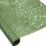 Japanese Ogura Lace Paper - OLIVE GREEN