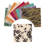 6-Inch Assorted Lokta Paper Origami Pack