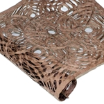 Amate Bark Paper - Circular Pattern - BROWN