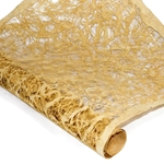 Amate Bark Paper - Lace - MUSTARD