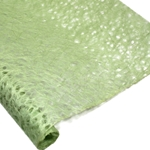 Japanese Ogura Lace Paper - SPRING GREEN