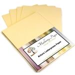Arturo Fine Stationery Paper - BUTTERCREAM YELLOW