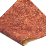 Italian Marbled Paper - BUTTERFLY - Burgundy