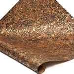 Italian Marbled Paper - STONE - Brown/Black/Gold