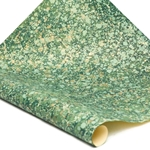 Italian Marbled Paper - STONE - Green/Brown