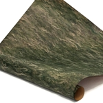 Italian Marbled Paper - FINE COMBED - Greens
