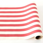 Paper Table Runner Roll - RED STRIPE-20 Inches x 25 Feet