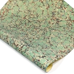 Italian Marbled Paper - STONE - Blue/Green/Red