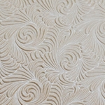 Indian Embossed Paper - SWIRL - IVORY