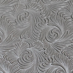 Indian Embossed Paper - SWIRL - SILVER