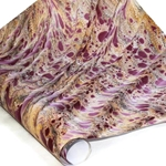 Italian Marbled Paper - DRAGON SKIN - PINK/YELLOW/BLACK