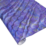 Italian Marbled Paper - DRAGON SKIN - Purple/Blue