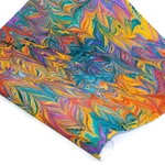 Custom Marbled Paper - Butterfly - VIBRANT