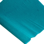 Lightweight Crepe Paper (100 GSM) - PEACOCK BLUE